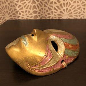 Vintage Masquerade Mask Decorative Art Accent